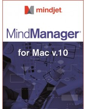 Mindjet MindManager 10 Upgrade Download Mac, Multilingual (102415)