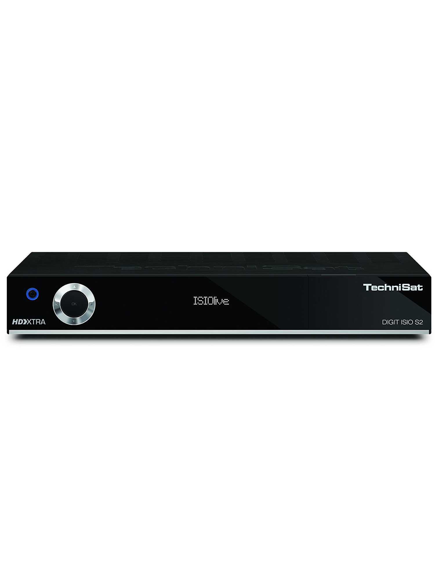 TechniSat DIGIT ISIO S2 Satellit Schwarz TV Set-Top-Box VFD CI+ DVB-S/S2 HDMI USB 2.0 Fast Ethernet 230V AC (0000/4756)