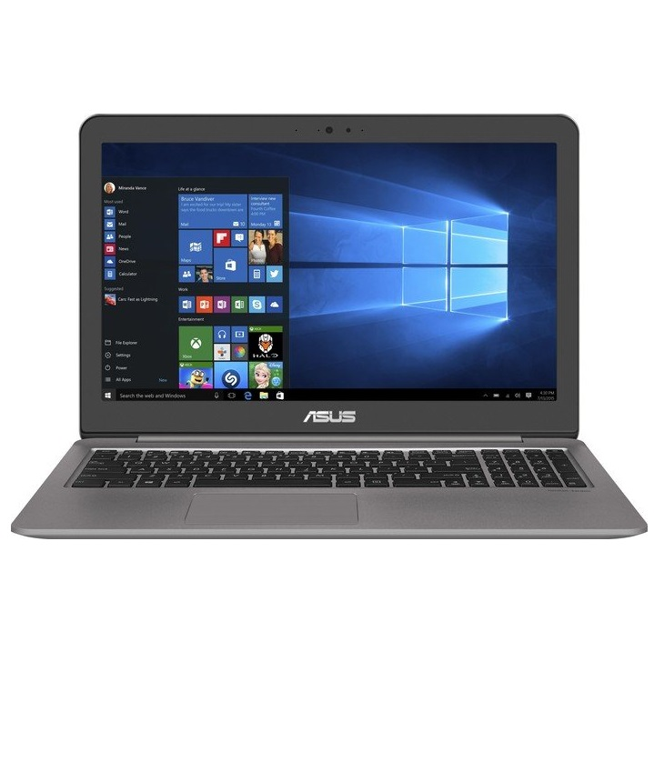 "ASUS ZENBOOK UX510UW 15,6"" Notebook Core i7 3,5 GHz 39,6 cm 256 GB 4.096 MB DDR-4 DVD-Brenner WLAN Windows 10 Pro (90NB0CB1-M01440)"