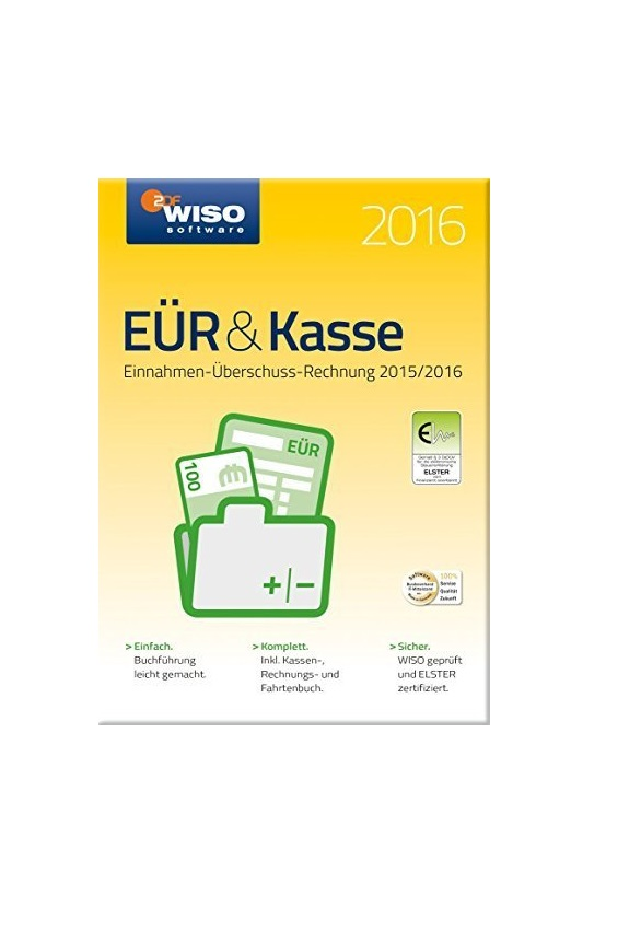 WISO EÜR & Kasse 2016, Win, Deutsch (KW42516-16)