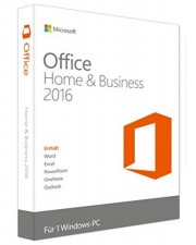 Microsoft Office 2016 Home and Business, PKC, Win, Deutsch