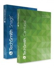 TechSmith Camtasia Studio 8 / Snagit 13 Bundle Upgrade Download Lizenzstaffel Win, Multilingual (1-4 User)