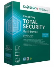 Kaspersky Total Security Multi-Device, Upgrade, 5 Ger�te, 2 Jahre, ESD, Download Software, Win/Mac/Android, Deutsch