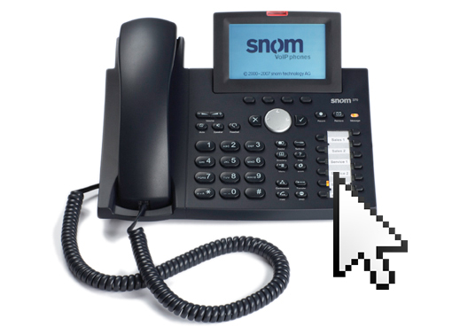 snom business telefone