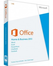 Microsoft Office 2013 Home and Business PKC, Deutsch