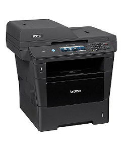 Brother Multifunktionsdrucker s/w Laser monochrom A4 USB 2.0 Gigabit LAN Wi-Fi(n) USB-Host (MFC8950DWG1)