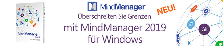 Mindjet Mindmanager 2019 und 11 - Mind mapping Software