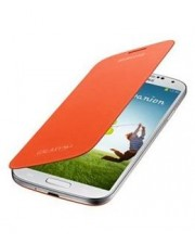 Samsung Flip Cover f�r Galaxy S4, Orange