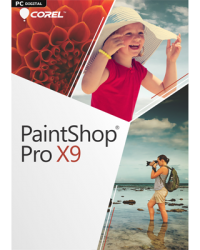Corel PaintShop Pro X9 Download Win, Deutsch (P14242-01)