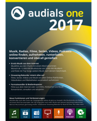 Audials One 2017 Download Win, Deutsch (P14744-01)
