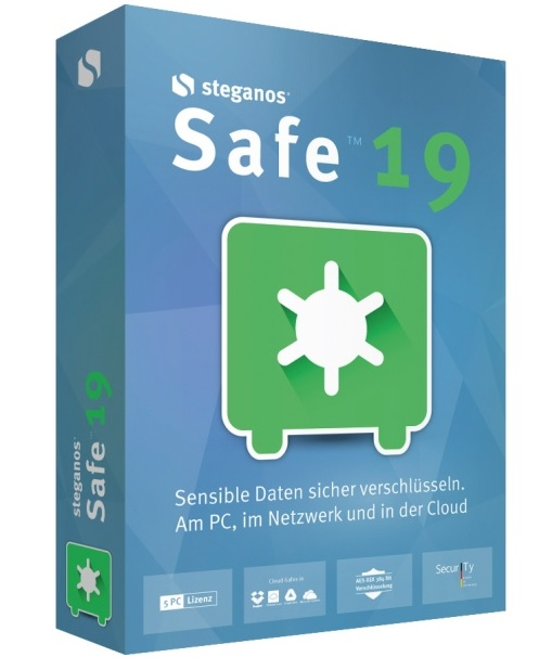Steganos Safe 19 Win, Deutsch