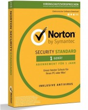 Symantec Norton Security Deluxe 3.0, 1 User, 5 Devices, 1 Jahr, ESD, Download Software, Win/Mac/Android/iOS, Deutsch