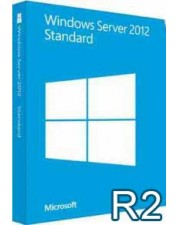 Microsoft Windows Server 2012 R2 Standard, Hyper-V, 64 Bit, 2 CPU/2 VM, SB/OEM, Win, Englisch
